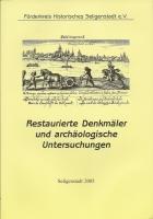 1054 - Restaurierte Denkmäler und archäologische Untersuchungen